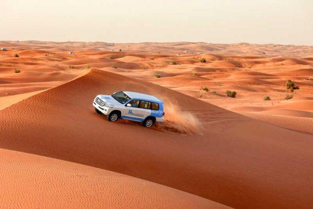 Safari no Deserto de Abu Dhabi