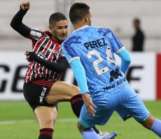 São Paulo tropeçou na Libertadores contra Binacional