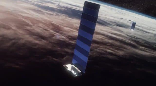 satélites SpaceX