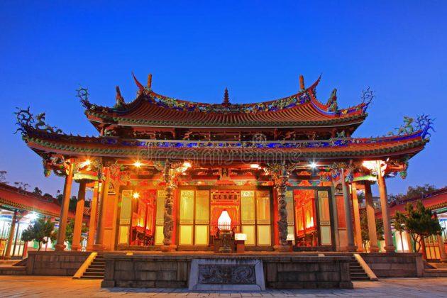 Templo de Confúcio em Taipé