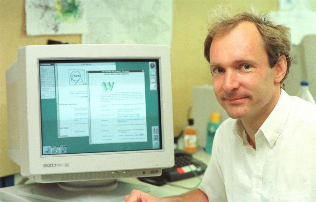 Tim Berners-Lee - inventor do www ou World Wide Web