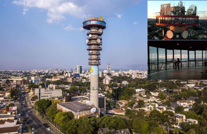 Torre Panorâmica da Telepar - Curitiba