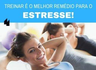 Treinar é o melhor remédio para o estresse! - Frases de motivação