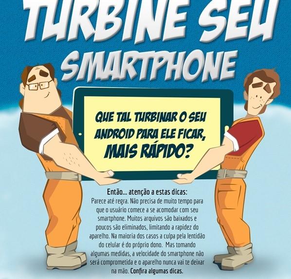 turbine seu celular