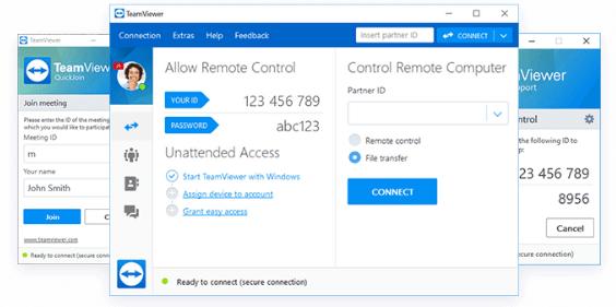 Teamviewer acesso - remoto