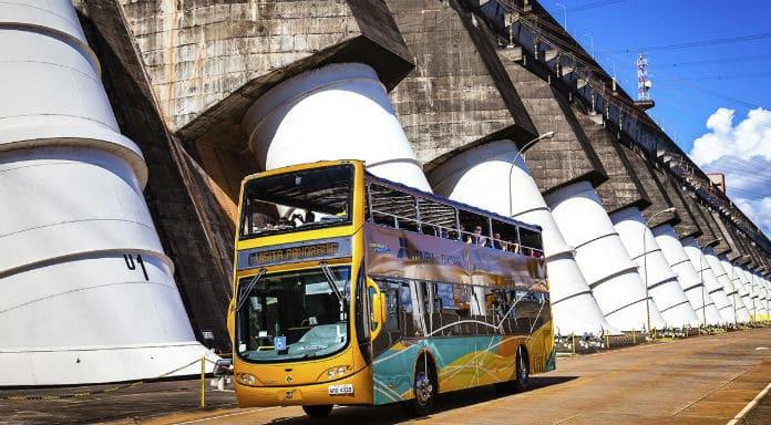 Usina Hidrelétrica de Itaipu - Fóz do Iguaçu