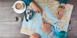Viajar para o exterior pela primeira vez