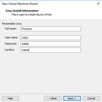 Configuração - como instalar o Ubuntu com o VMware