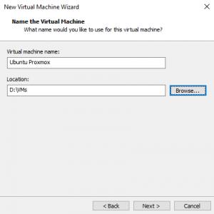 Configuração - como instalar a virtualização do Ubuntu com o VMware