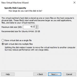 Armazenamento para o sistema operacional virtualizado