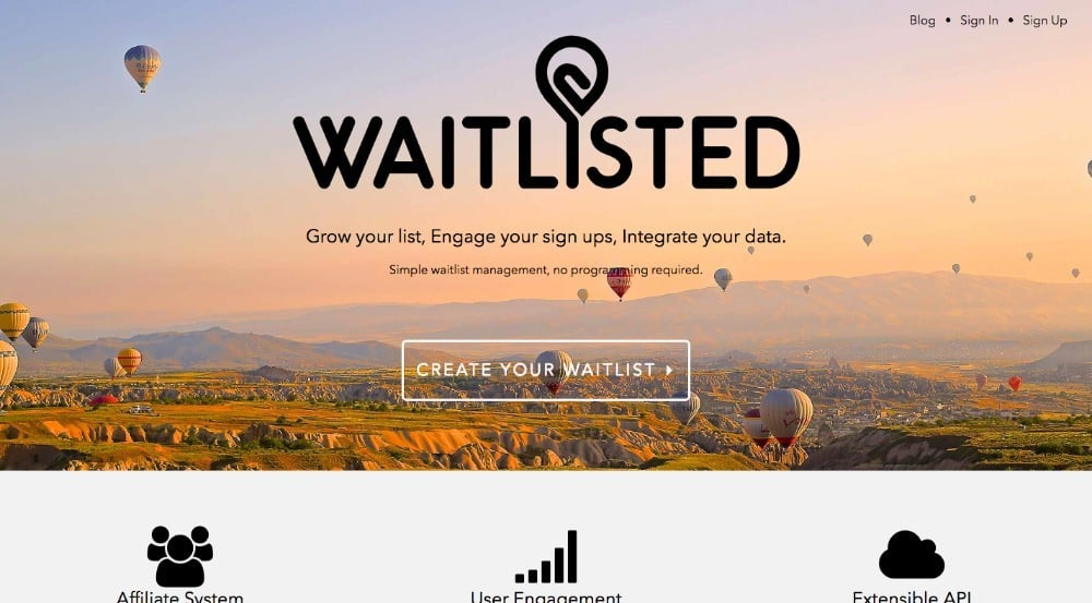 Waitlisted - software de afiliados