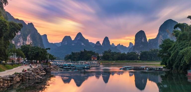Xingping Town Guilin